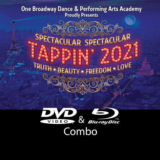 One Broadway: Tappin' 21 Blu-ray/DVD Combo