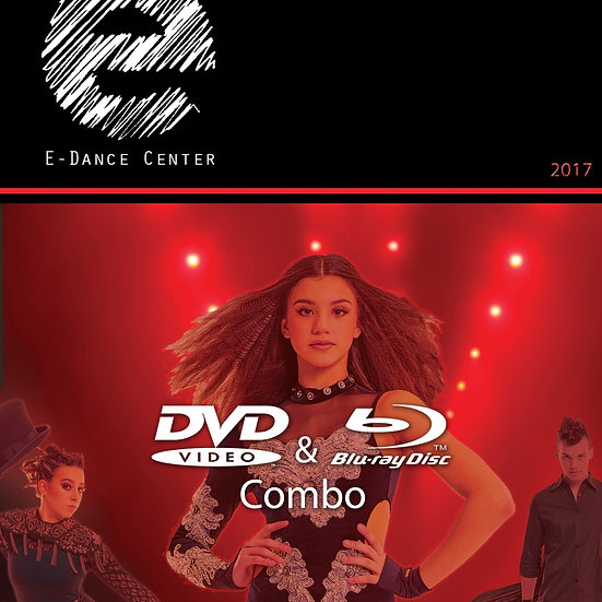 e-dance: 2017 Blu-ray/DVD Combo