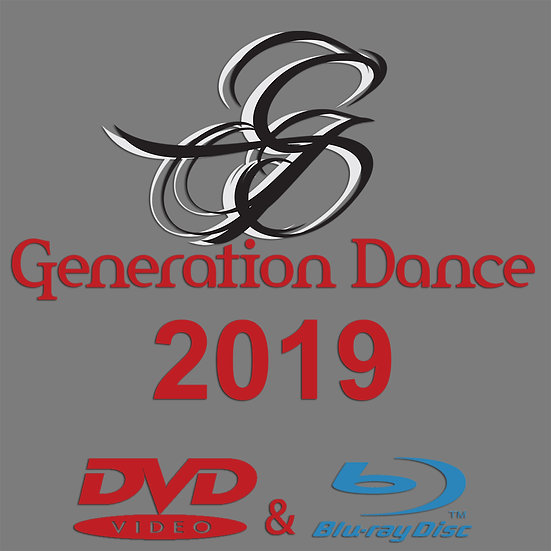 Generation Dance: Tour de Force 2019 Blu-ray/DVD Combo