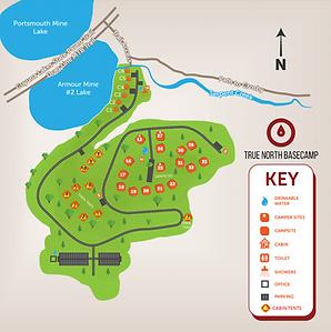 True North Basecamp Map