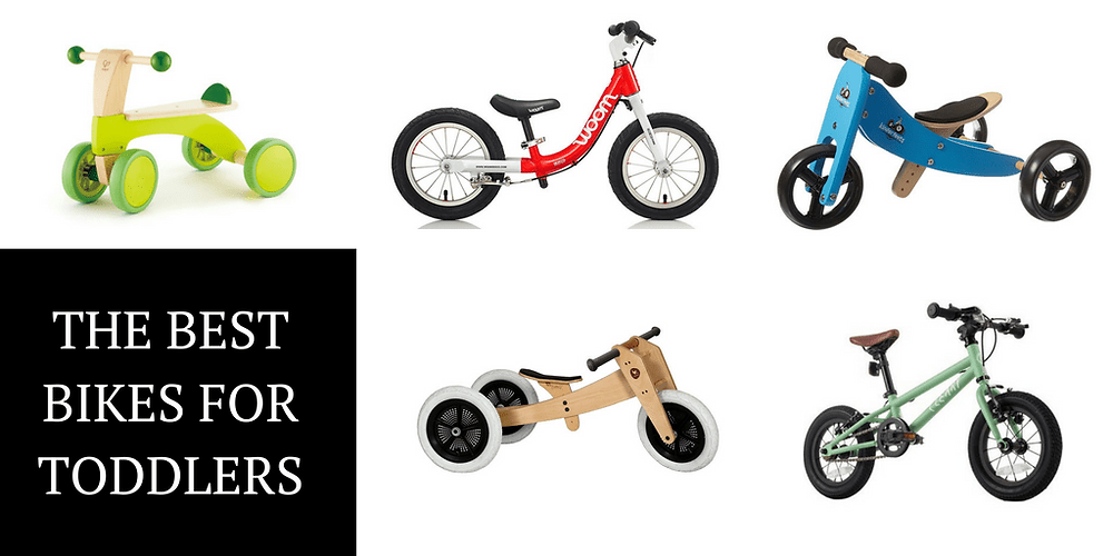 Many options for toddler bikes