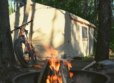 Camping made easy with cabin tents