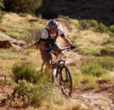 Jeff Bajek Riding Bike