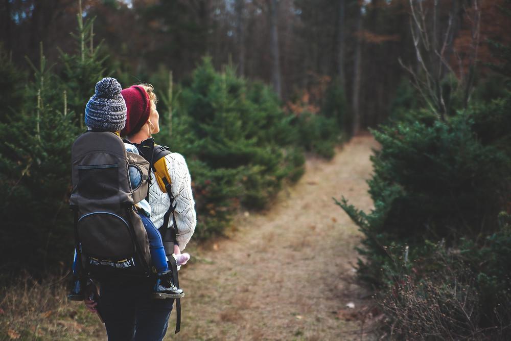 Outdoor adventure with kids