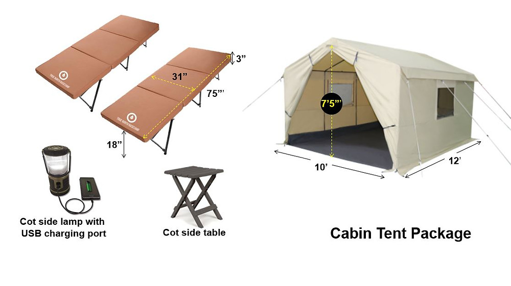 Cabin Tent Package