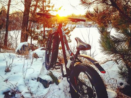Benefits of winter fatbiking in Minnesota