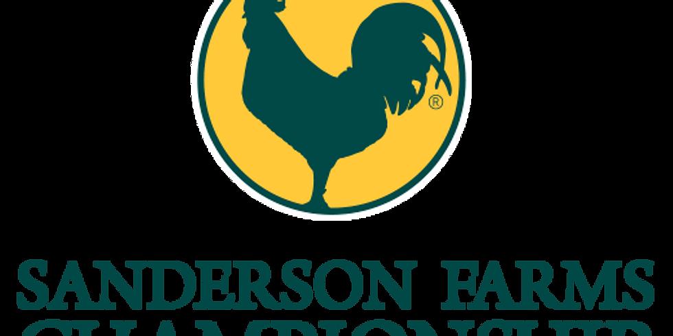 PGA Tour Stop: Sanderson Farms Championship