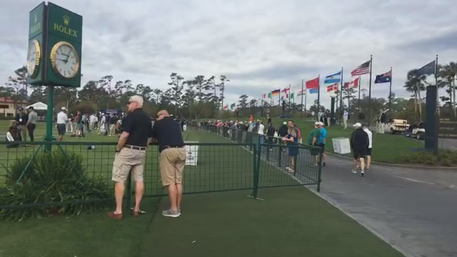 Live from the players tournament day one with Miss Kira