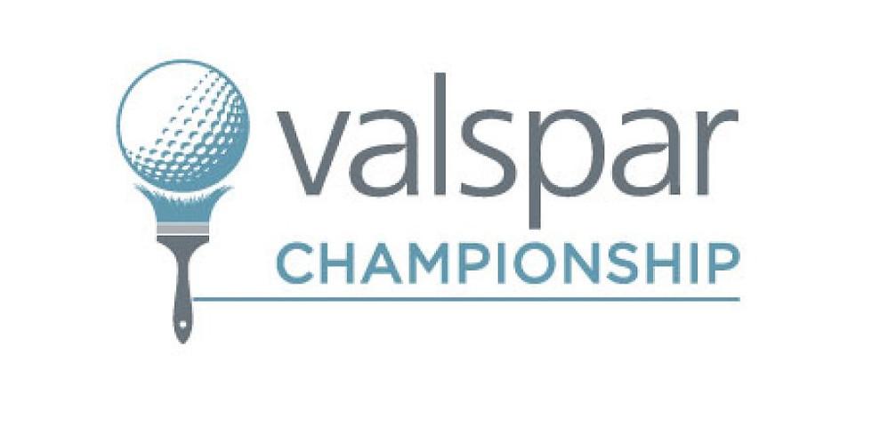 PGA Tour Stop: Valspar Championship