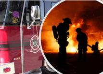 Winnipeg Fire Battles Blaze on Selkirk Ave