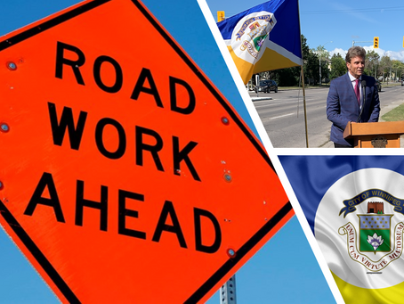Road Work That May Impact You