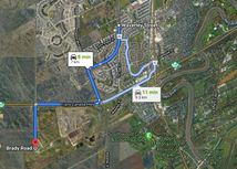 New Service Road Will Link Waverley to Brady Road