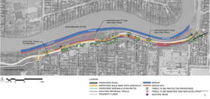 The Plan for the Wellington Crescent Riverbank