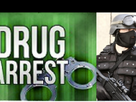 Weapons and Drugs Seized by The Guns & Gangs Unit