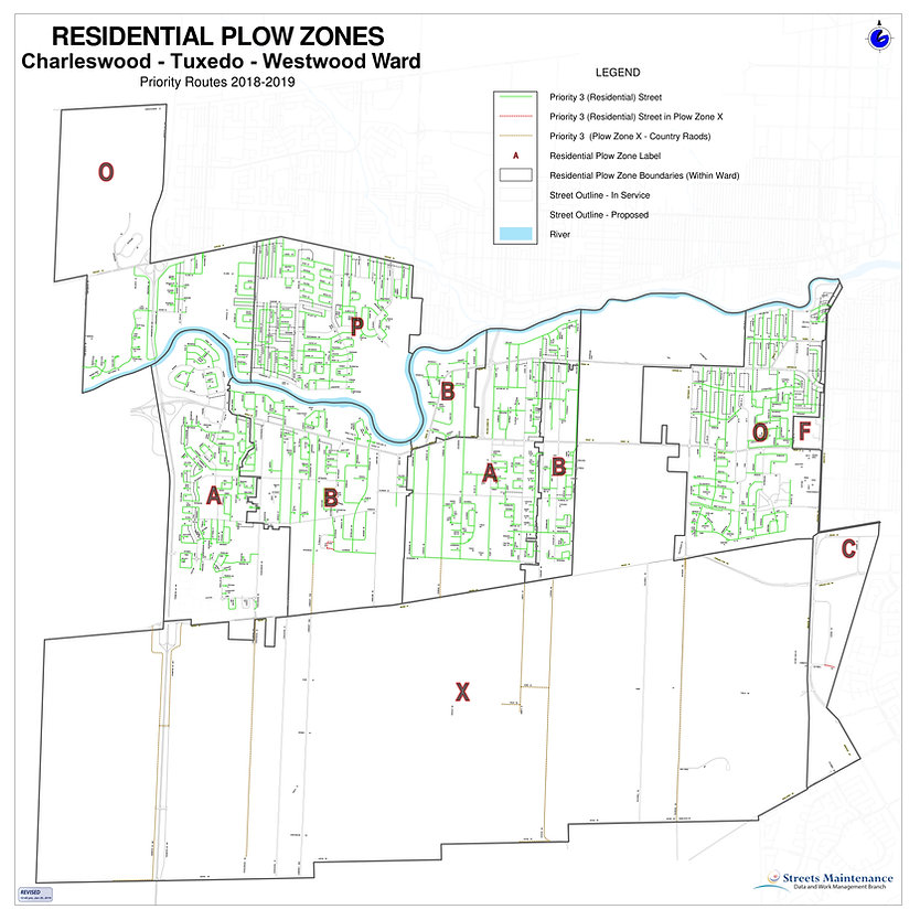 RESIDENTIAL PLOW ZONES - CHARLESWOOD - T