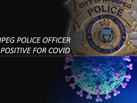 Winnipeg Police Member Tests Positive for COVID-19