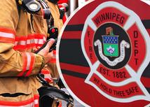 Winnipeg Fire Crews Battle Fire on Alexander Avenue