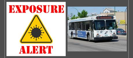 COVID-19 Exposures on Winnipeg Transit