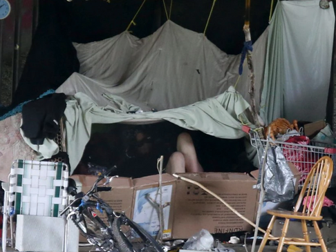 Winnipeg bans under bridge camping, but that's just hiding the problem, says Klein
