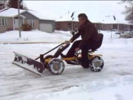 Winnipeg Snow Clearing 2021