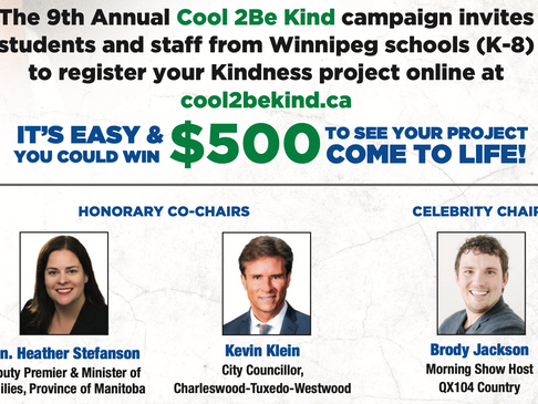 Winnipeg Police Association Kicks-Off the Cool 2BE Kind Campaign
