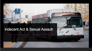 Indecent Act on City Bus
