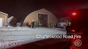 Fire on Charleswood Road
