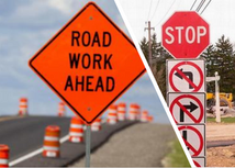 Road Work on Chalfont & Woodview Bay