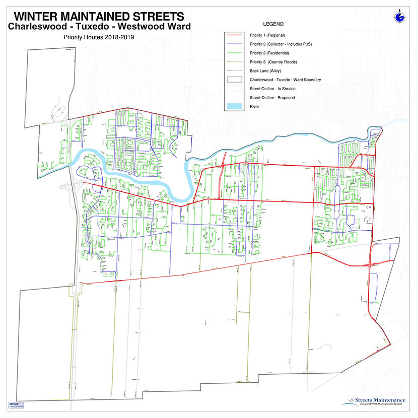 WINTER MAINTAINED STREETS - CHARLESWOOD