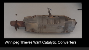 Criminals Want Catalytic Converters