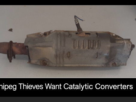 Criminals Want Catalytic Converters