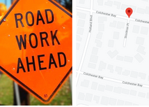Street Upgrading on Stockton Place & Colchester Bay