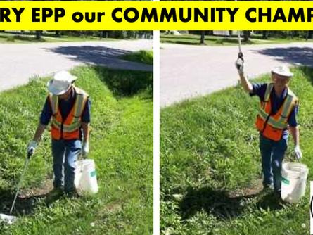 Garry Epp our Community Champion