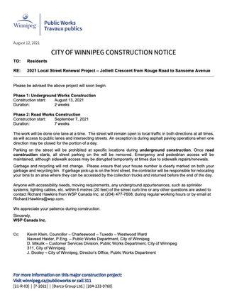 21-R-03 Jolliett Crescent Construction Notice Underground_Road Works.jpg