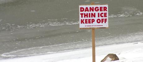 First responders urge caution around thin ice conditions on waterways