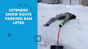 EXTENDED PARKING BAN LIFTED
