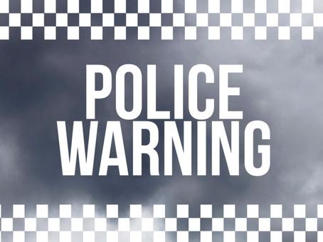 Winnipeg Police Issue Warning to Females