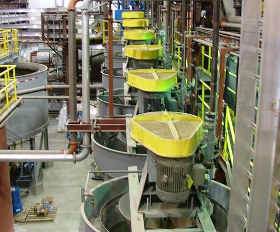 Flotation Cells in Mill