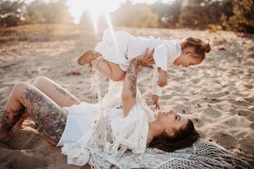 Mutter Tochter Boho