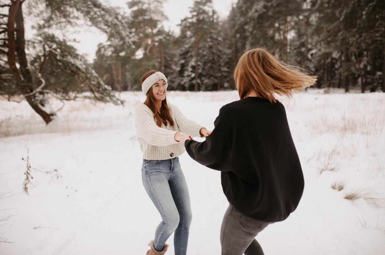 Beste Freundinnen Shooting