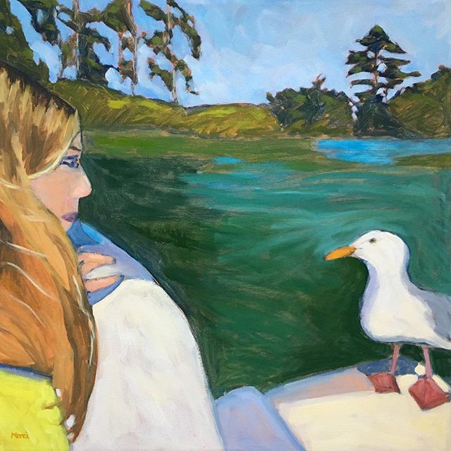Girl And Gull