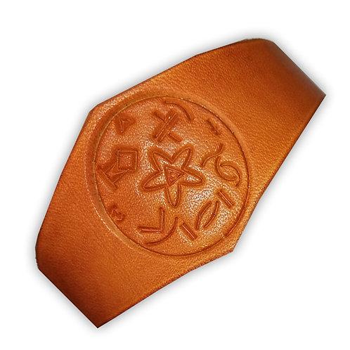LEDER-Armband mit Gel-Kelti®