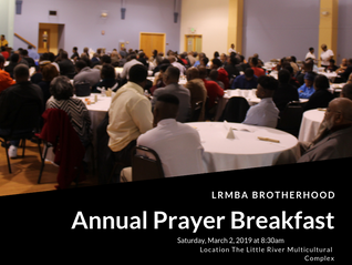 LRMBA Brotherhood Pray Breakfast