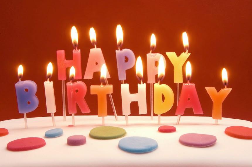 It's Your Birthday. Let's Celebrate