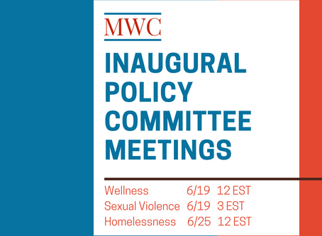 MWC to Hold First Policy Committee Meetings