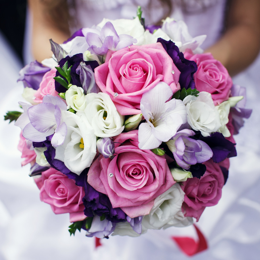 This Wedding Bouquet Rings Wedding Bells