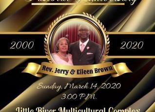 Moderator Jerry Moderator 20th Anniversary Celebration