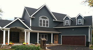 Completed home roofing project in long branch