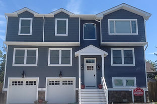 Completed home siding project in long branch