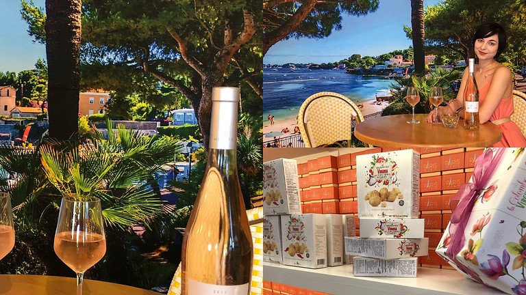 French Riviera Rosé and Travel Evening
